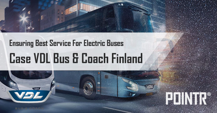 VDL Bus & Coach Finland Seeks Speed and Efficiency with POINTR